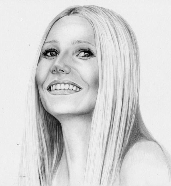 Gwyneth Paltrow by Hillcza